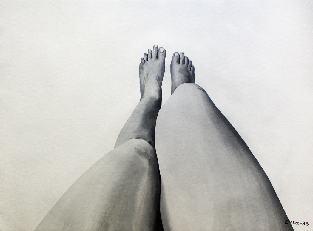 No mirrors perspectives of a body elena mantovan for Mirror 45 x 60